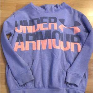 Under Armour Shirts & Tops - Girls Under Armour Hoodie Sweatshirt